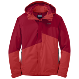 OR Men's Offchute Jacket agate/hot sauce