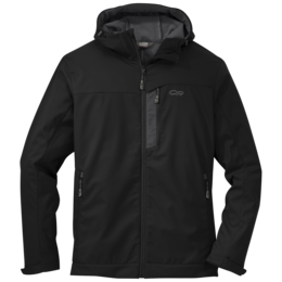 OR Men's Transfer Hooded Jacket black