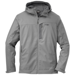 OR Men's Transfer Hooded Jacket pewter