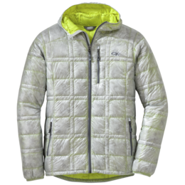 OR Men's Filament Hooded Down Jacket alloy/jolt