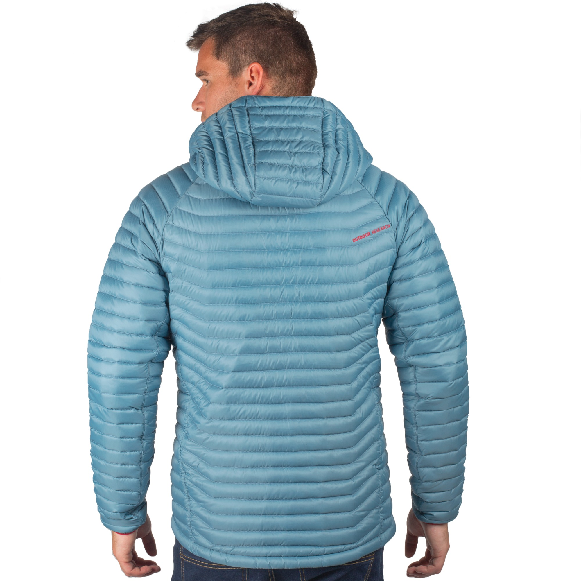 f74fee177 Men's Verismo Hooded Down Jacket - black | Outdoor Research