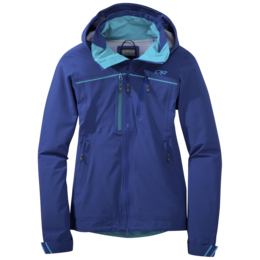 OR Women's Skyward Jacket baltic/typhoon