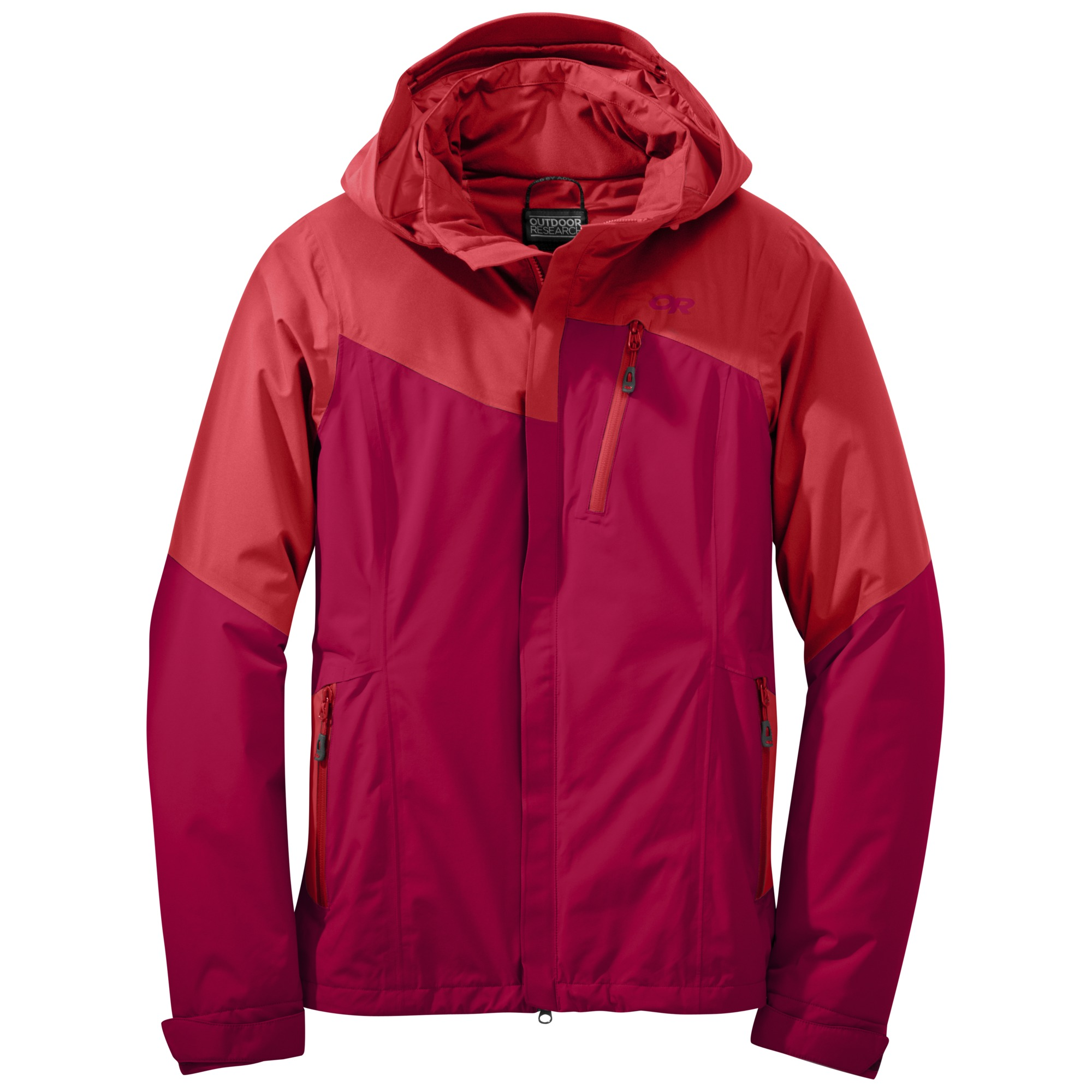 11e486104 Women's Offchute Jacket™ - flame/scarlet | Outdoor Research