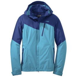 OR Women's Offchute Jacket baltic/typhoon