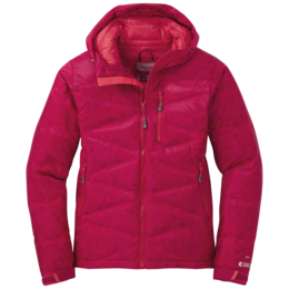 OR Women's Floodlight Down Jacket scarlet