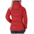 OR Women's Sonata Ultra Hooded Down Jckt flame/scarlet