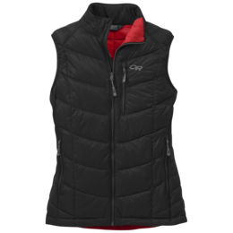 OR Women's Sonata Down Vest black/flame
