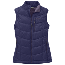OR Women's Sonata Down Vest blue violet/fig