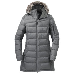 OR Women's Fernie Down Parka pewter