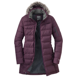 OR Women's Fernie Down Parka pinot