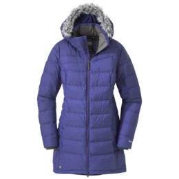 OR Women's Fernie Down Parka blue violet