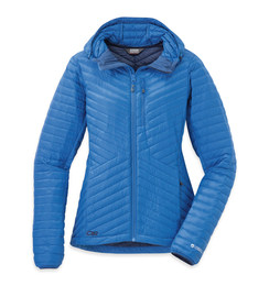 OR Women's Verismo Hooded Down Jacket cornflower