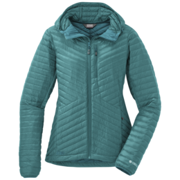 OR Women's Verismo Hooded Down Jacket atlantis