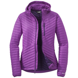 OR Women's Verismo Hooded Down Jacket ultraviolet
