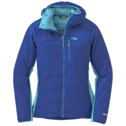 OR Women's Cathode Hooded Jacket baltic/typhoon