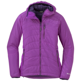 OR Women's Cathode Hooded Jacket ultraviolet