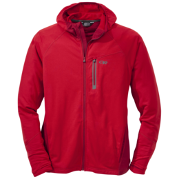OR Men's Transition Hoody hot sauce/agate