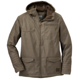 OR Men's Oberland Hooded Jacket earth