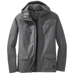 OR Men's Oberland Hooded Jacket charcoal