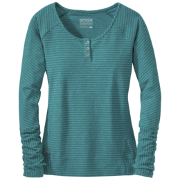 OR Women's Mikala Henley atlantis/sea