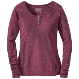 OR Women's Mikala Henley pinot/raspberry