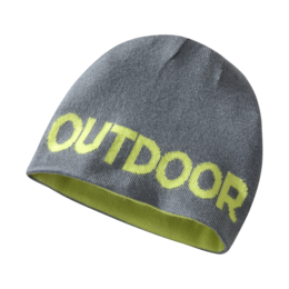 OR Kids' Booster Beanie pewter/lemongrass