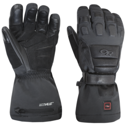 OR Capstone Heated Gloves black