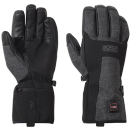 OR Oberland Heated Gloves black/charcoal