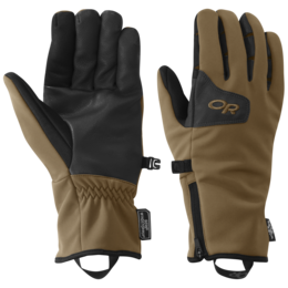 OR Men's Stormtracker Sensor Gloves coyote/black