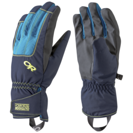 OR Men's Riot Gloves night/lemongrass/tahoe