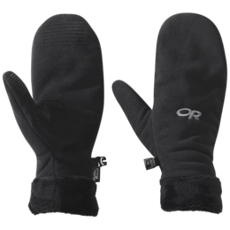 OR Women's Fuzzy Mitts black