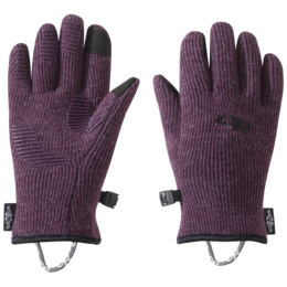 OR Kids' Flurry Sensor Gloves pinot