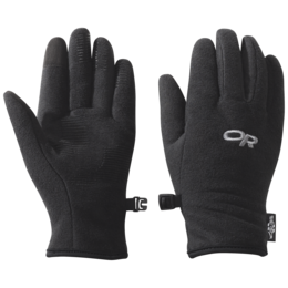 OR Kids' Fuzzy Sensor Gloves black