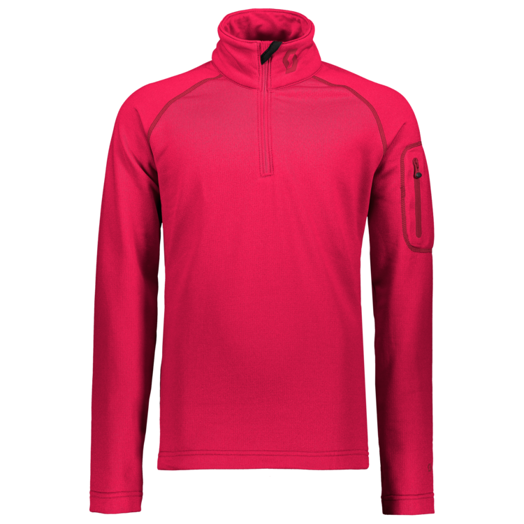 Pullover da bambino ½ zip SCOTT Defined Light
