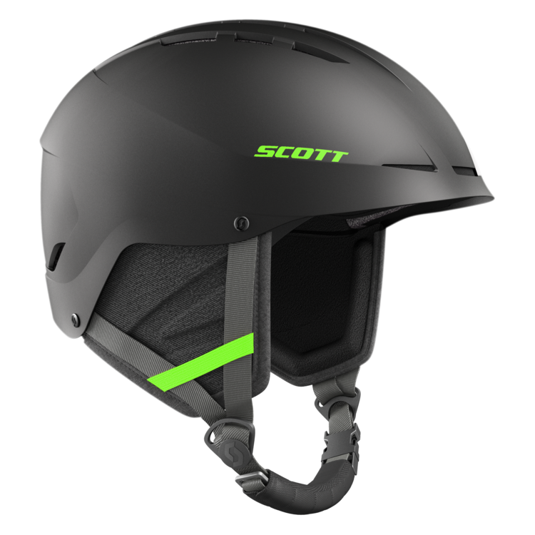 SCOTT Camble green strap Helmet