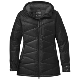 OR Women's Floodlight Down Parka black/charcoal