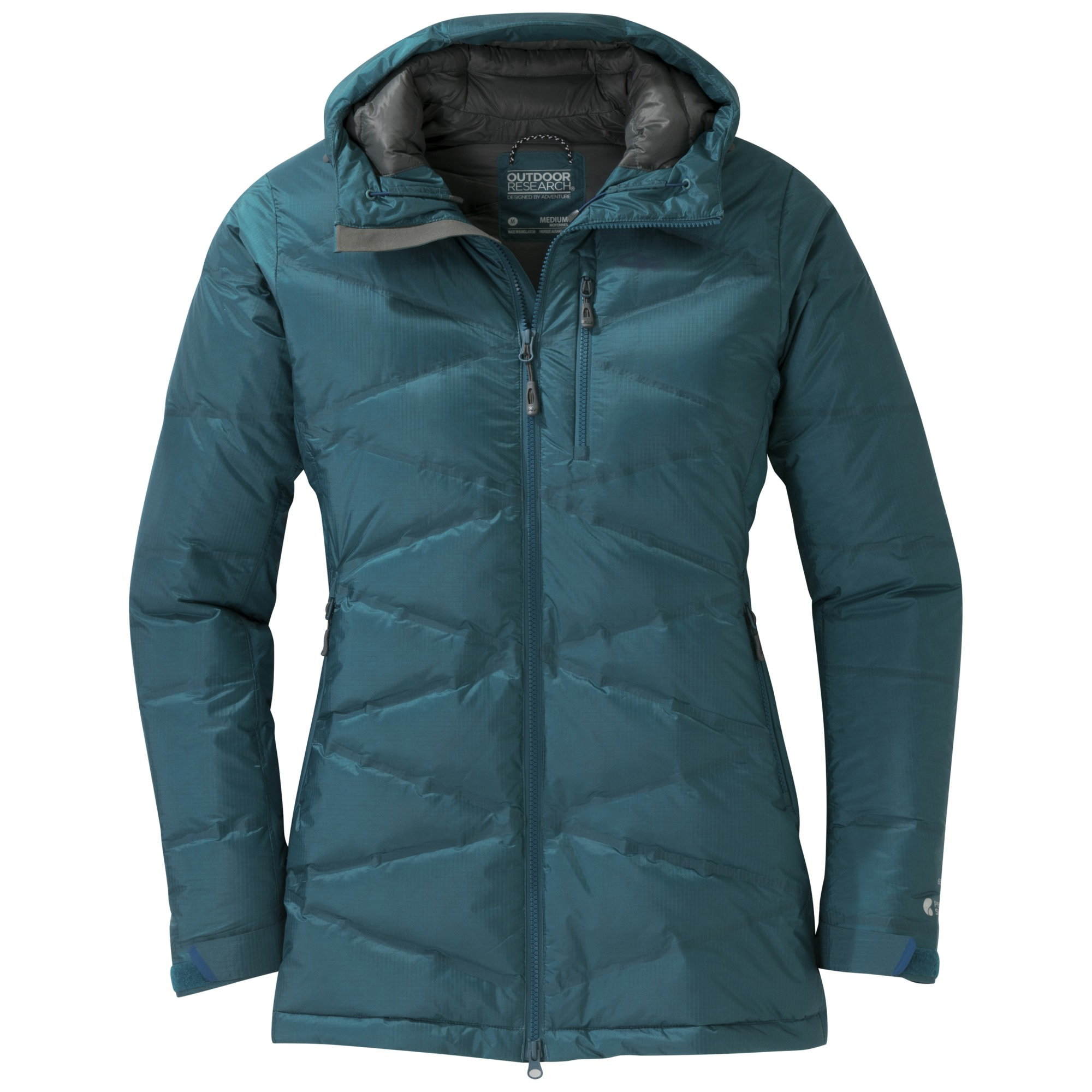 eae71bc71 Women's Floodlight Down Parka - washed peacock | Outdoor Research