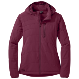 OR Women's Winter Ferrosi Hoody garnet