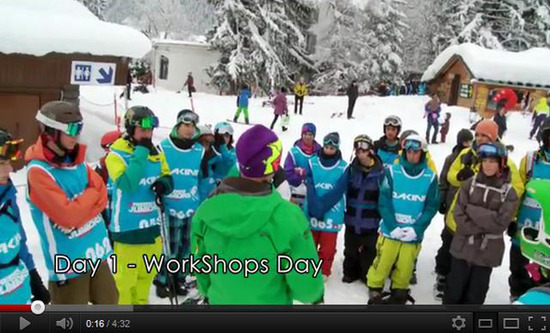 clip junior tour chamonix 2012