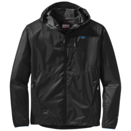 OR Men's Helium Hybrid Hooded Jacket black