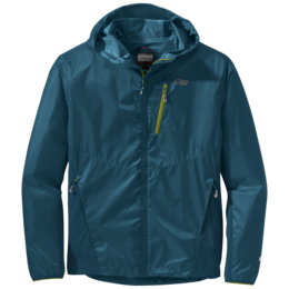 OR Men's Helium Hybrid Hooded Jacket peacock