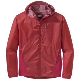 OR Men's Helium Hybrid Hooded Jacket hot sauce/agate