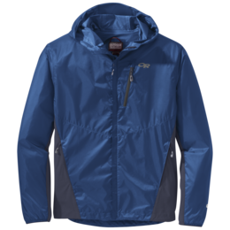 OR Men's Helium Hybrid Hooded Jacket cobalt/naval blue