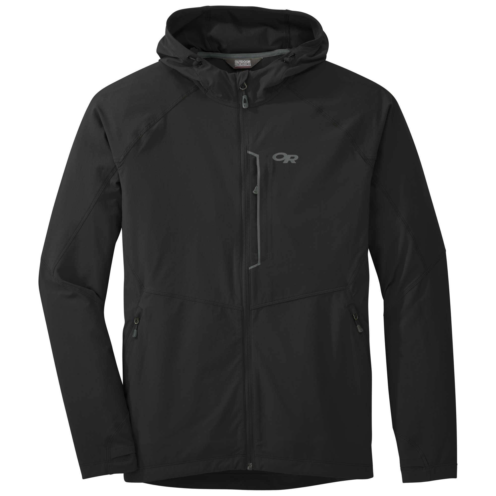 Men's Ferrosi Hooded Jacket - black | Outdoor Research