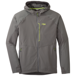 OR Men's Ferrosi Hooded Jacket pewter/lemongrass