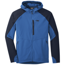 OR Men's Ferrosi Hooded Jacket glacier/night
