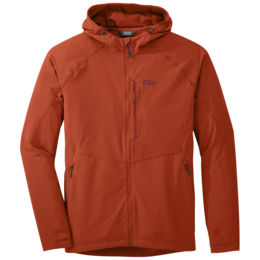 OR Men's Ferrosi Hooded Jacket burnt orange
