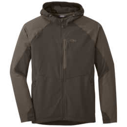 OR Men's Ferrosi Hooded Jacket mushroom/walnut