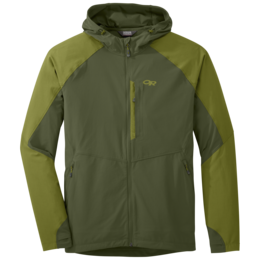OR Men's Ferrosi Hooded Jacket kale/hops