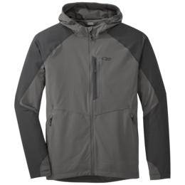 OR Men's Ferrosi Hooded Jacket pewter/storm